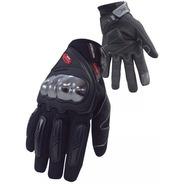 Luva Motociclista Nasa Shield Preta Original C/ Proteção