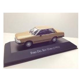 Miniatura Carros Nacionais Brasileiros Ford Del Rey 1982
