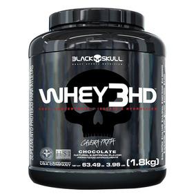 Whey 3hd 100% Importado 1,8kg - Black Skull