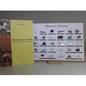 Coleção Minerais E Rochas Com Livro