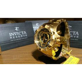 90dcddebfbe Relógio Invicta 80624 Reserve Excursion Preto Dourado W33 · R  368. 12x R   30 sem juros