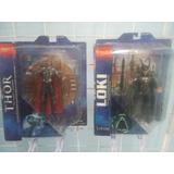 Loki Y Thor Marvel Select