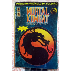 Hq Mortal Kombate - Sangue E Trovão Nº 1, 3 E 4