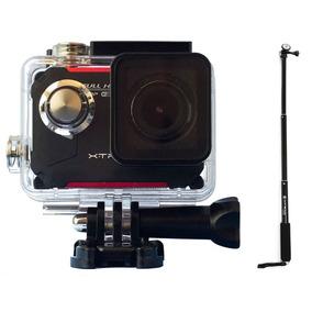 Kit Câmera De Ação Xtrax Evo À Prova D