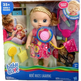 Baby Alive Doces Lagrimas Loira Hasbro C0957 Original