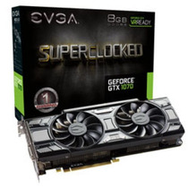 Placa De Video Evga Geforce Gtx 1070 8gb Ddr5 08g-p4-5173-kr