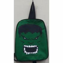 Mini Mochila Lancheira Infantil Hulk Super Heroi Escolar