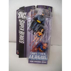 Batman Mujer Maravilla Superman Liga De La Justicia Jla