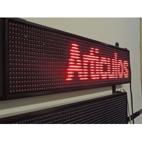 Cartel 1536 Led Rojo Super Brillante Programable Envios!!!
