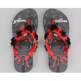 Chinelo Homem Aranha
