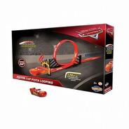 Pista Carros Disney - Mcqueen Piston Cup Looping - Toyng