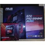 Combo Board Asus 970 Pro Gaming Aura Fx 8350 Am3 Super Gamer