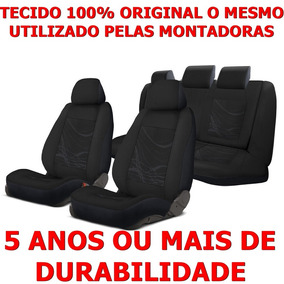 Jogo Capa Banco Estofado Tecido Grosso Blazer Original