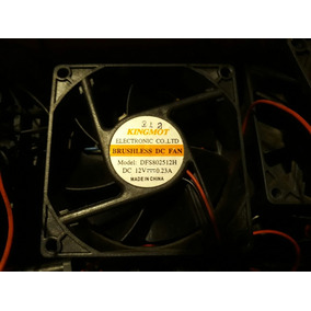 Ventilador Fan Cooler Extractor Para Gabinetes Fuentes 12v
