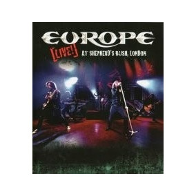 Europe Live! At Sheperds Bush - London Cd + Dvd Digi