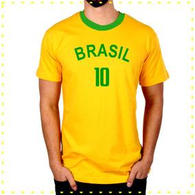 Kit Camisetas Do Brasil 20 Peças - Atacado