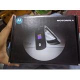 Motorola V3 Color Azul .libre.nuevo.$1499 Con Envío