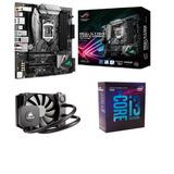 Kit Intel Core I3 8350k 8ª G + Asus Rog Strix + Water H45