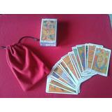 Cartas De Tarot Marsella + Tapiz +bolsita Forro+7 Libros Pdf