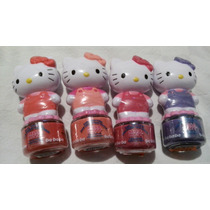 Pintura De Uñas No Toxica Removible Hello Kitty Envio Gratis