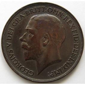Gran Bretaña Moneda 1 Penny 1916 Km# 810 Georg V Xf-