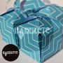 Cajas Personalizada Estampada Color En Opalina O Kraft X20u