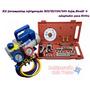 Kit Ferramentas P/ Refrigeração : Bomba De Vácuo , Manifold