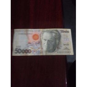 Cedula Nota 50.000 Cinquenta Mil Cruzeiros - Câmara Cascudo