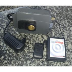Kit Fechadura Elétrica Por Controle Remoto - Até 30m