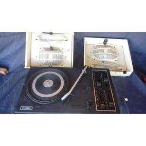 Vitrola Radiola Toca Disco Philips Antiga
