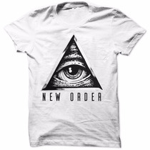 Camiseta Swag Illuminati New Order Rap Dope Camisa Masculina