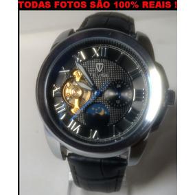 Relógio De Pulso Unissex, Pulseira De Couro, Original