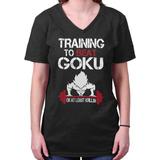 faf3d491e0844 Entrenando Para Vencer A Goku Saiyan Gym Dbz Anime Camise.