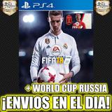 Fifa 18 Ea Sports Fifa + Mundial Rusia 2018 Ps4 Digital 1°