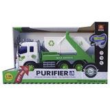 Camion Recolector A Friccion Con Luz Y Sonido Nenes
