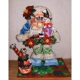 Santa Claus Navidad En Foami