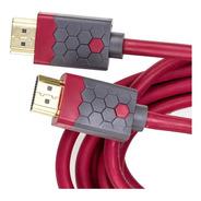 Cabo Hdmi Rosso High Speed Com Ethernet 3metros
