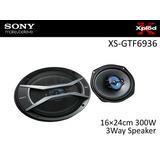 Parlantes Sony Xplod 6x9 3vias 300w Xs-gtf6936