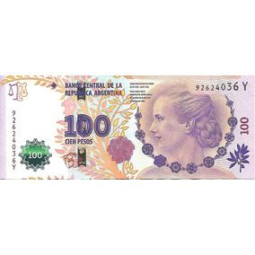 Billete $100 Evita Serie Y Sin Circular Palermo