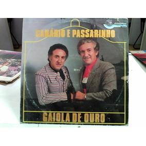 Lp Canario E Passarinho Gaiola De Ouro