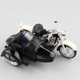 Harley Davidson Side Car 1858 Flh Duo Glide Esc. 1/18 Nueva