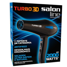 Secador Turbo 3d Salon Line