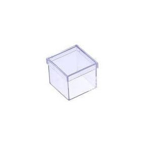 35 Caixa Acrilico Transparente 5x5 Cm 001