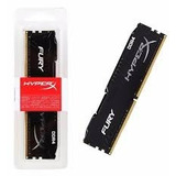Ram Kingston 4gb Ddr4 2400 Fury Negro Tda. Wilson