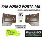 Par Forro Porta Caminhão Mb 709 1418 1618 2318 1935 Marrom