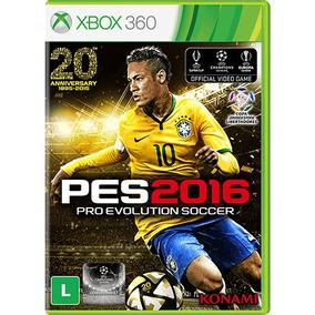 Pes 2016 Xbox 360 Original/lacrado Em Midia Fisica