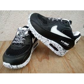 Tenis Nike Air Max Negro Bb Envio Gratis