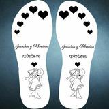 Ojotas Personalizadas Casamiento 15 Años Eventos X25 Pares