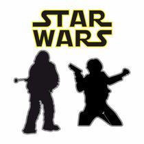 Sticker - Calcomania - Vinil - Paquete Star Wars