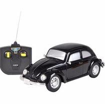 Volkswagen Fusca Controle Remoto 1:24 Cks Preto